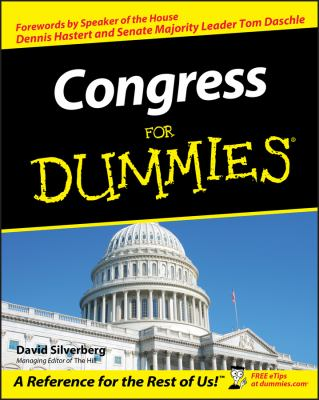 Congress for Dummies 9780764554216