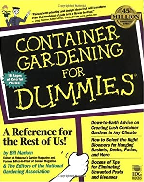 Container Gardening for Dummies 9780764550577