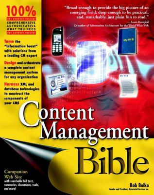 Content Management Bible 9780764548628