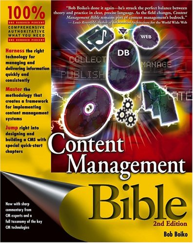 Content Management Bible 9780764573712