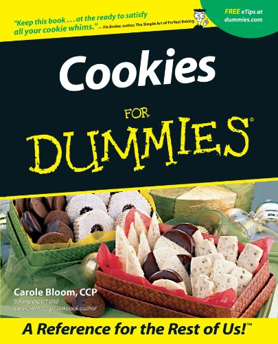 Cookies for Dummies 9780764553905