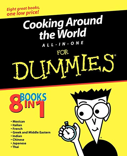 Cooking Around the World All-In-One for Dummies 9780764555022