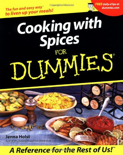 Cooking with Spices for Dummies 9780764563362