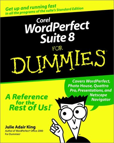 Corel WordPerfect Suite 8 for Dummies 9780764501876