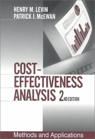 Cost-Effectiveness Analysis: Methods and Applications 9780761919346