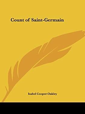 Count of Saint-Germain 9780766101012