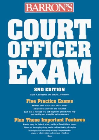 Court Officer Exam 9780764123665
