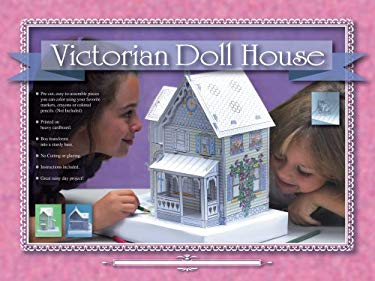 Create Your Own Victorian Dollhouse With Pre Cut Pieces