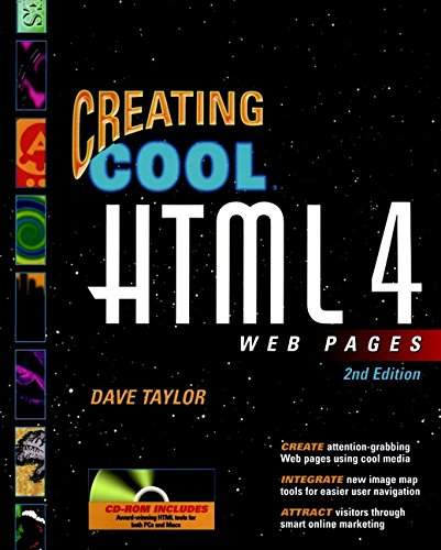 Creating Cool HTML 4 Web Pages [With CDROM] 9780764534843