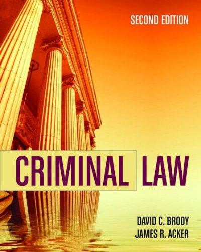 Criminal Law 9780763759131