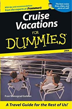 Cruise Vacations for Dummies 9780764538223