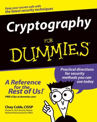 Cryptography for Dummies 9780764541889