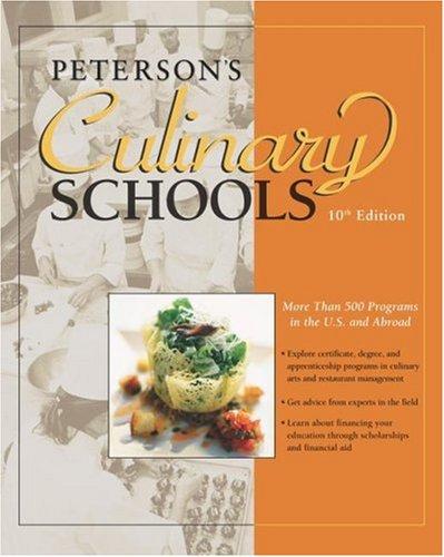 Culinary Schools 10th Ed