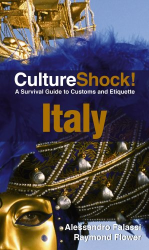 CultureShock! Italy: A Survival Guide to Customs and Etiquette 9780761454861