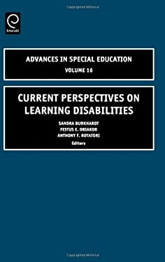Current Perspectives on Learning Disabilities 9780762311309
