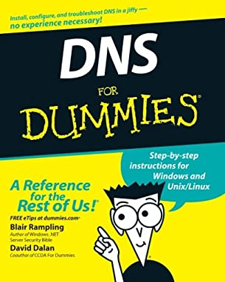 DNS for Dummies 9780764516832