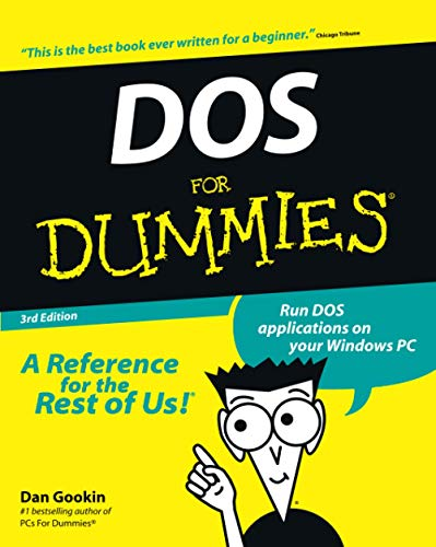 DOS for Dummies 9780764503610