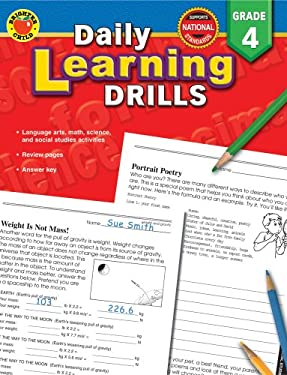 Daily Learning Drills, Grade 4 9780769630946
