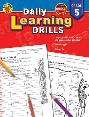 Daily Learning Drills, Grade 5 9780769630953