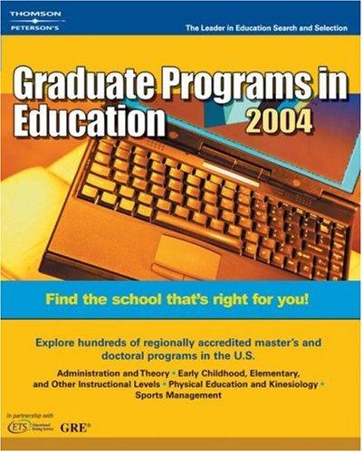Decision GD: Gradprg Educ 2004 9780768911770