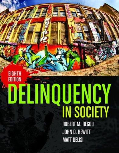 Delinquency in Society 9780763764340