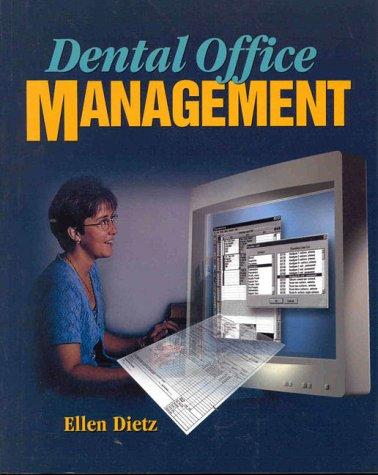 Dental Office Management 9780766807310