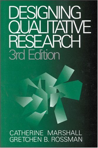 Designing Qualitative Research 9780761913405