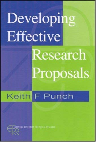 Developing Effective Research Proposals 9780761963554