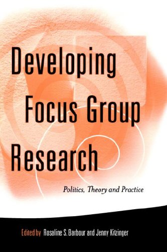 Developing Focus Group Research: Politics, Theory and Practice 9780761955672
