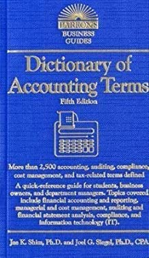 Dictionary of Accounting Terms 9780764143106