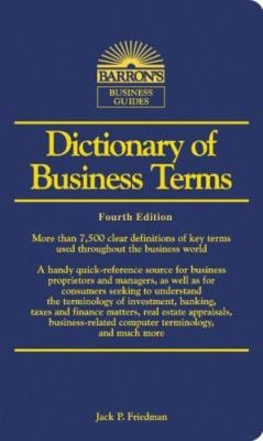 Dictionary of Business Terms 9780764135347