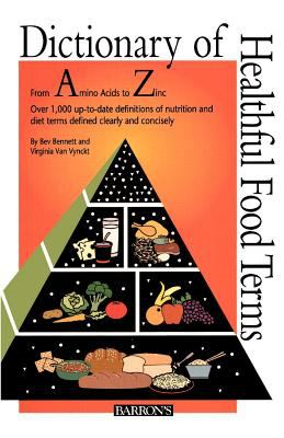 Dictionary of Healthful Food Terms 9780764191343