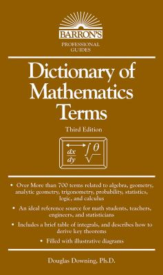 Dictionary of Mathematics Terms 9780764141393