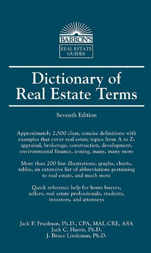 Dictionary of Real Estate Terms 9780764139369
