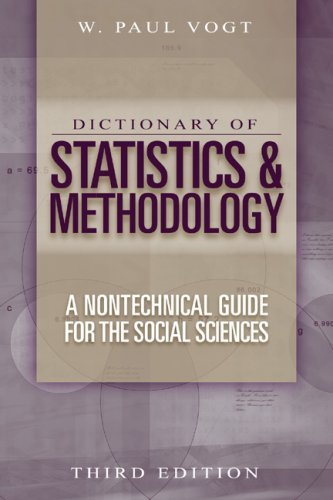 Dictionary of Statistics & Methodology: A Nontechnical Guide for the Social Sciences 9780761988557