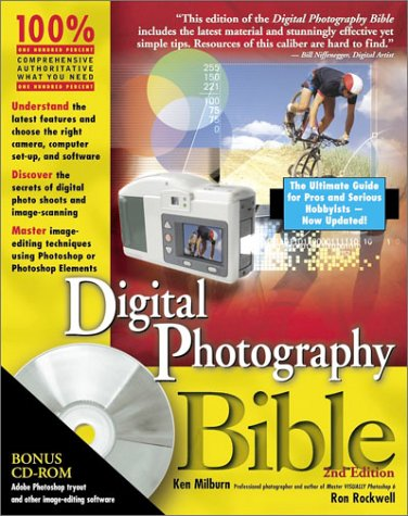 Digital Photography Bible [With CD-ROM] 9780764549519