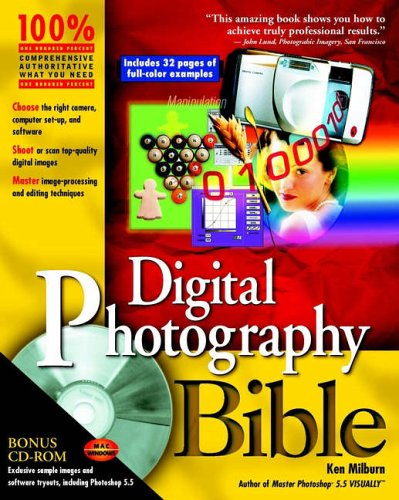 Digital Photography Bible [With CDROM] 9780764533945