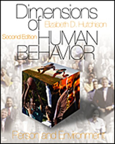 Dimensions of Human Behavior [With CDROM] 9780761988038