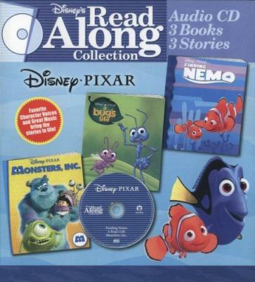 Disney Pixar: Finding Nemo/A Bug's Life/Monsters, Inc. [With Book] 9780763411510