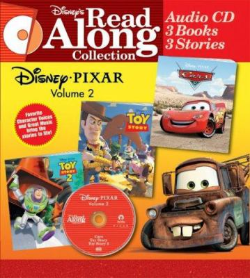 Disney/Pixar: Volume 2 [With 3 Paperback Books] 9780763421816