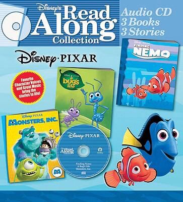 Disney Pixar Collection [With 3 Books] 9780763412098