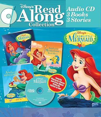 Disney Read Along Little Mermaid Collection [With 3 Paperbacks] 9780763412029