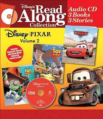 Disney Read Along Pixar Collection, Volume 2 [With 3 Paperbacks] 9780763412050