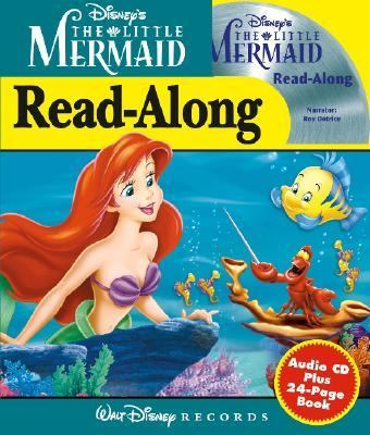 Disney's the Little Mermaid: Read-Along [With 24 Page Book]
