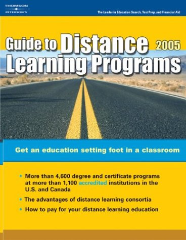 Distance Learning Programs 2005 9780768913989
