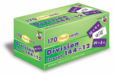 Division Through 144/12 Flashcard 9780768208429