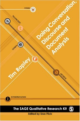 Doing Conversation, Discourse and Document Analysis 9780761949817