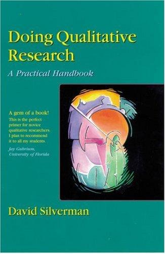 Doing Qualitative Research: A Practical Handbook 9780761958222