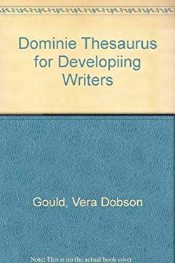 Dominie Thesaurus for Developiing Writers 9780768522983