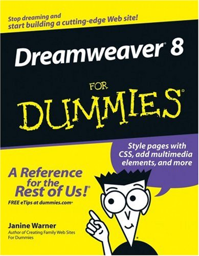Dreamweaver 8 for Dummies 9780764596490